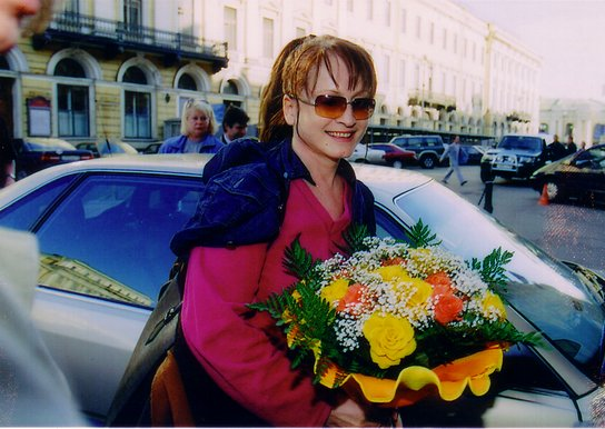 "фото: Вячеслав Гурецкий /Санкт-Петербург, 30.04.2001. Гост. ""Европа""/"